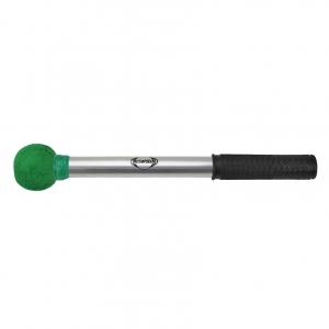 Maza Surdo alum. bola grande verde