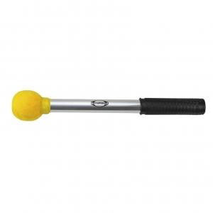 Maza Surdo alum. bola grande, amarillo