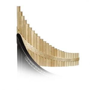 Flauta de pan 20 tubos Arce