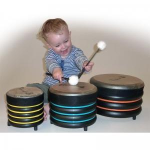 Set de 3 tambores Trommus