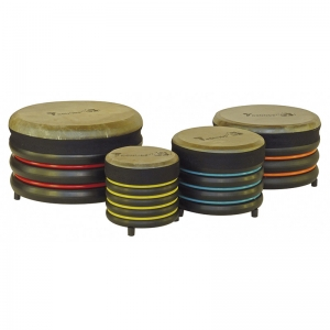 Set de 4 tambores bajos Trommus