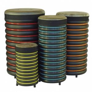 Set de 4 tambores alto Trommus