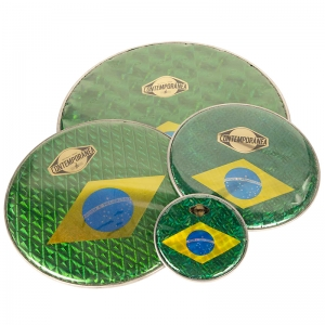 "Membrana 10"" bandera Brasil"