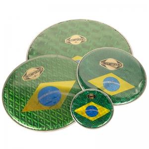 "Membrana 14"" bandera Brasil"