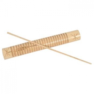 Reco-reco de bambú de 29 cm.