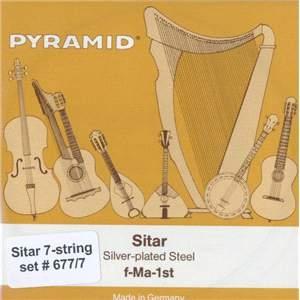 Juego de cuerdas para sitar