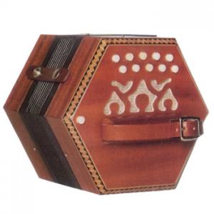 Concertina madera 20 botones