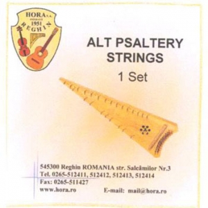 Juego de cuerdas para psaltery alto