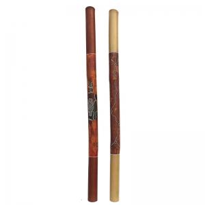 Didjeridoo bambú pintado punto