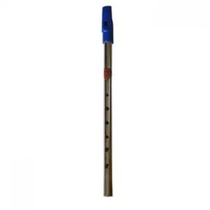 "Flauta ""FLAGEOLET"" FA Nickel Boquilla azul"