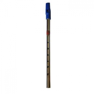 "Flauta ""FLAGEOLET"" MI Bronce Boquilla azul"
