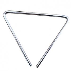 "Triángulo de 10"" 8mm grosor"