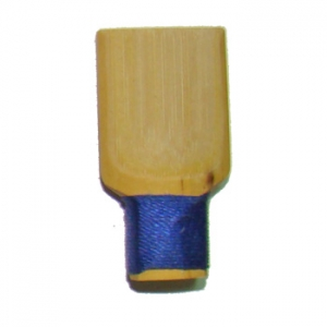 Caña para gralla/dulzaina, hilo azul