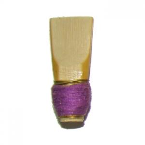 Caña para gralla/dulzaina, hilo violeta