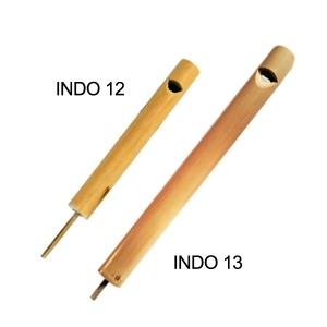 Silbato de bambú pequeño