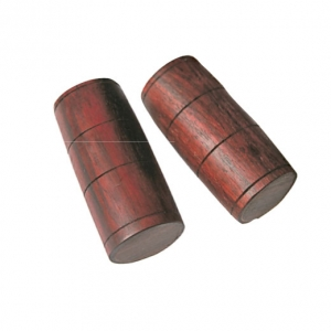 Shaker barril mini, madera bubinga
