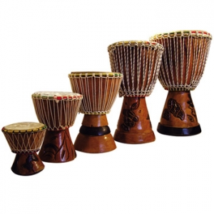 "Djembe mini, 7"", Senegal"