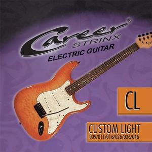 Cuerdas guitarra electr. Career Strinx CL