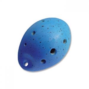 OCARINA Alto (Do) 7 agujeros, azul, 10 cm largo